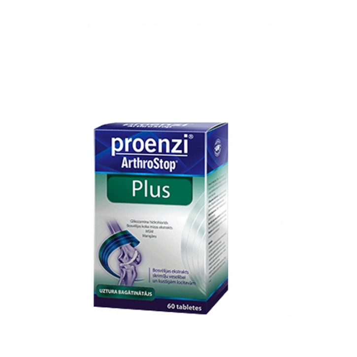 WALM. PROENZI ARTHROSTOP PLUS tabletes N60