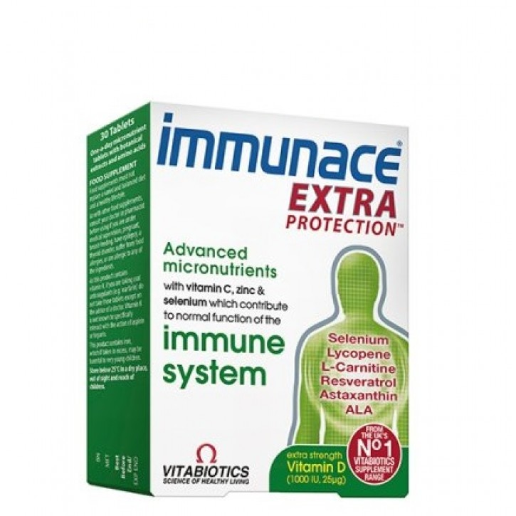 IMMUNACE EXTRA PROTECTION tabletes  N30