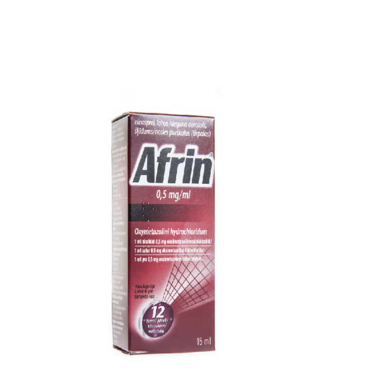 AFRIN 0.5mg/ml deguna aerosols 15ml