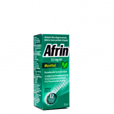 AFRIN MENTHOL 0.5mg/ml deguna aerosols 15ml
