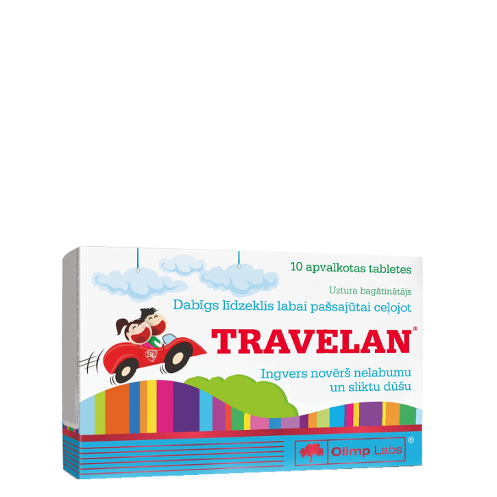 OLIMP LABS TRAVELAN tabletes N10