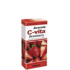 ACEROLA C-VITA STRAWBERRY 60mg tabletes N30
