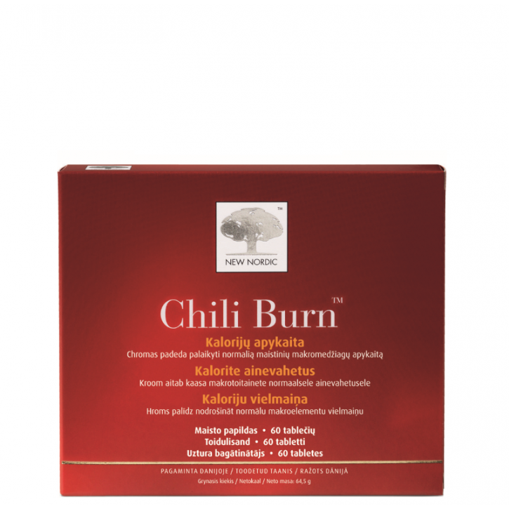 CHILI BURN tabletes N60