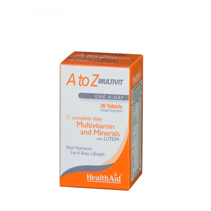 A to Z MULTIVIT N30 / HealthAid