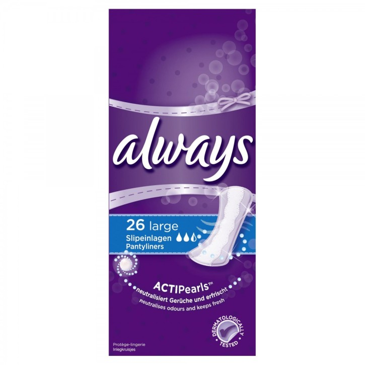 ALWAYS DAILIES EXTRA PROTECT LARGE N26