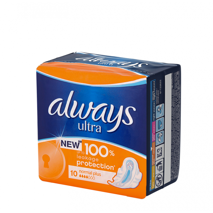ALWAYS ULTRA NORMAL+ paketes N10