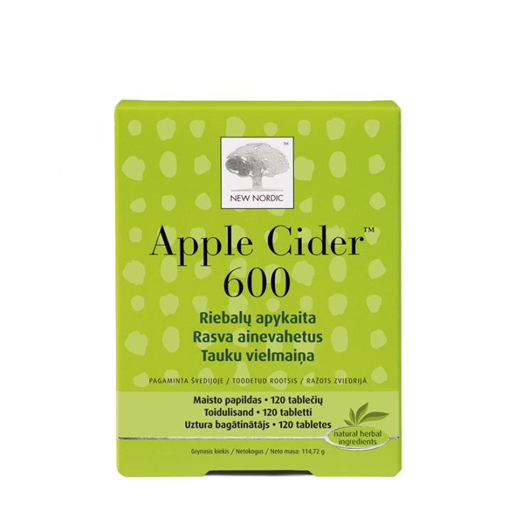 APPLE CIDER™ 600 tabletes N120