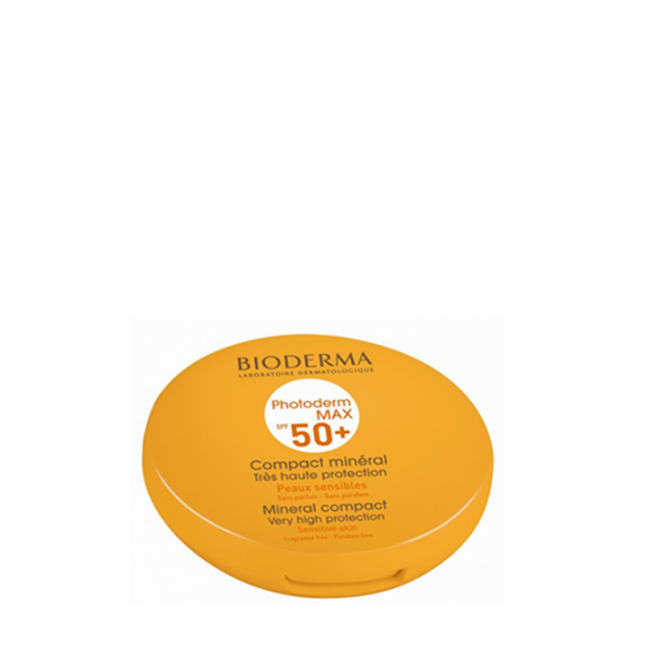 BIODERMA PHOTODERM MAX SPF50+ KOMPAKTPŪDERIS LIGHT 10g