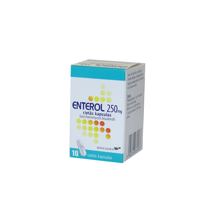 ENTEROL 250mg kapsulas N10