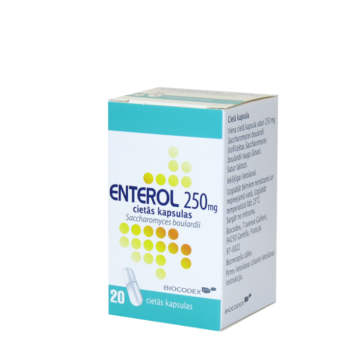 ENTEROL 250mg kapsulas N20