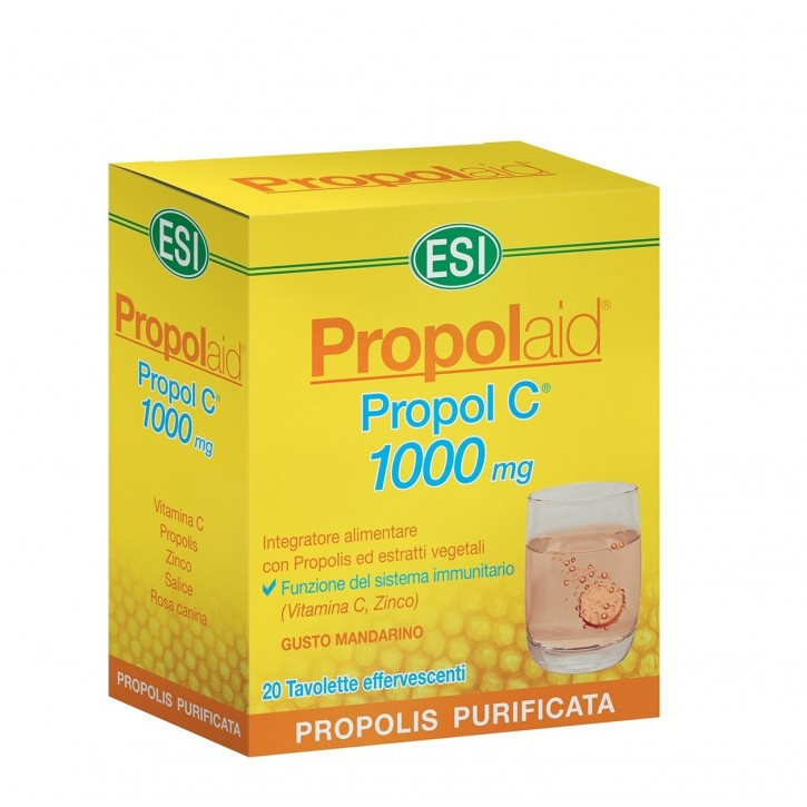 ESI PROPOLAID PROPOL C 1000MG tabletes N20