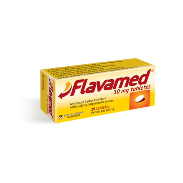 FLAVAMED 30mg tabletes N20