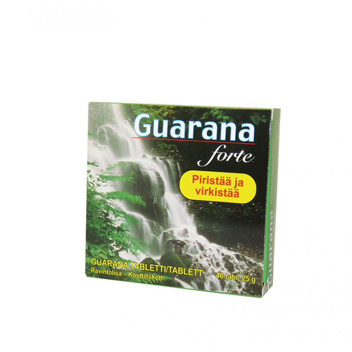 GUARANA FORTE tabletes N40 / HKK