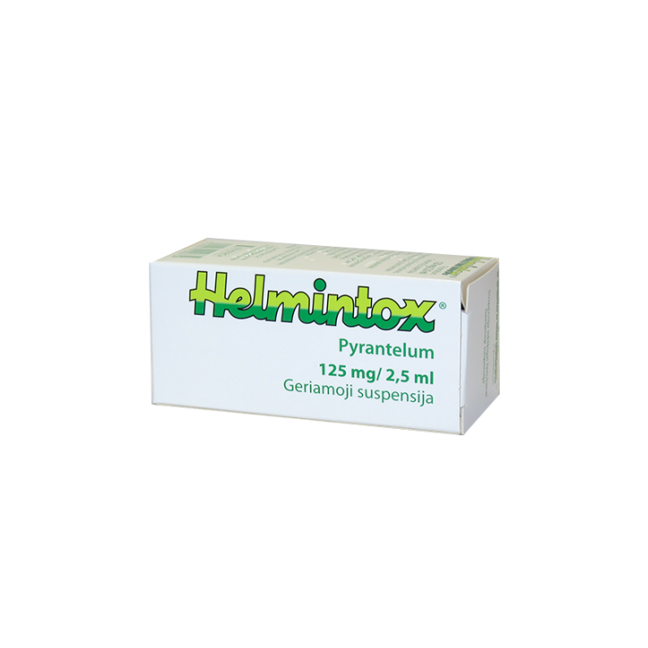 HELMINTOX 125mg/2.5ml suspensija 15ml