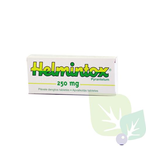 Helmintox tabletes instrukcija