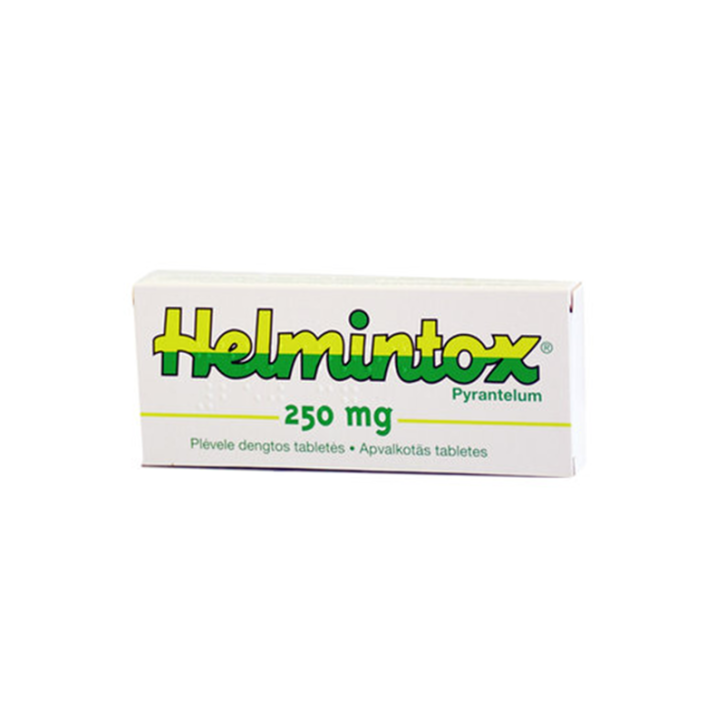 HELMINTOX 250mg tabletes N3