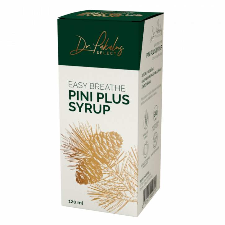 DR. PAKALNS EASY BREATHE PINI PLUS SYRUP 120ML
