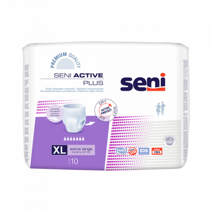 SENI ACTIVE PLUS EXTRA LARGE N10 (K)
