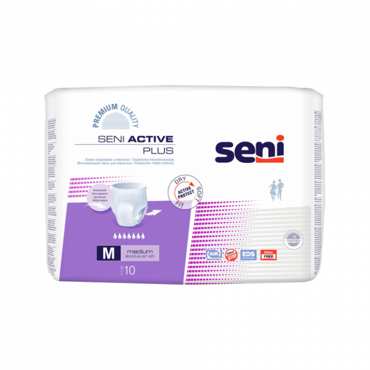 SENI ACTIVE PLUS M BIKSĪTES N10