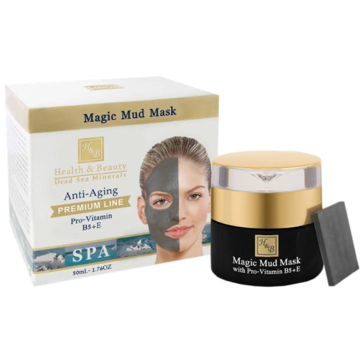 H&B MAGIC MUD MASK (ANTI-AGING) 50ML