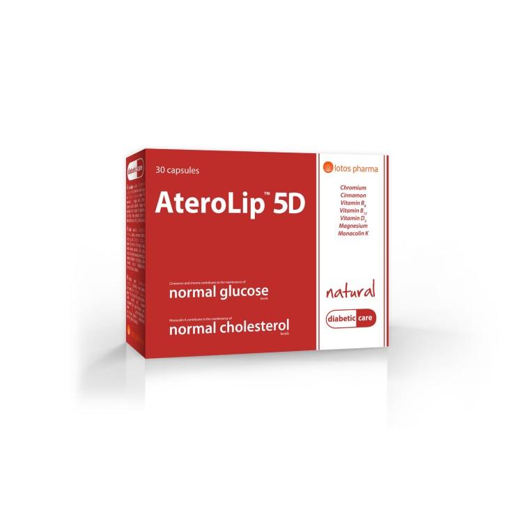 ATEROLIP 5D kapsulas N30