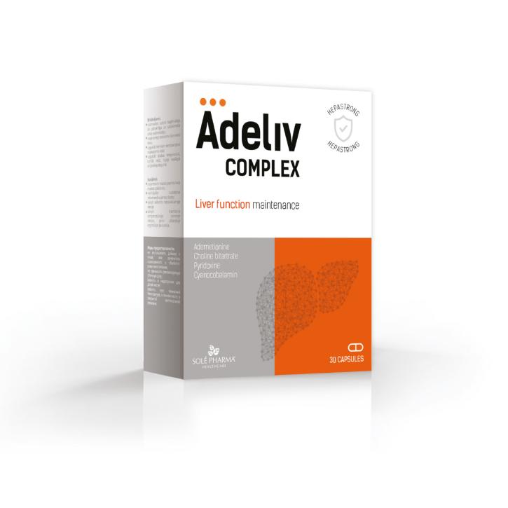 ADELIV COMPLEX (AKNU) kapsulas N30/SOLEPHARM