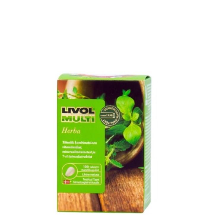 LIVOL MULTI HERBA tabletes N100