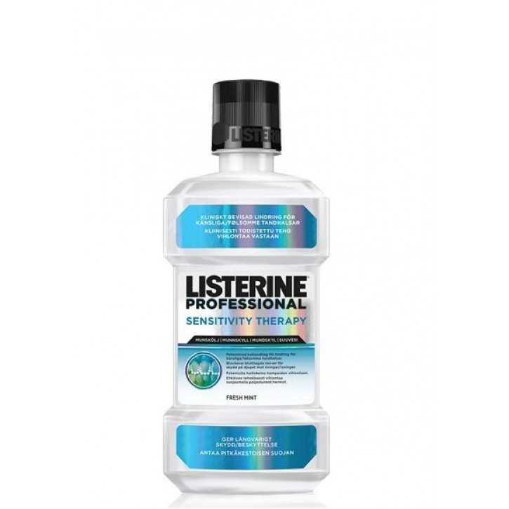 LISTERINE MUTES SKALOJAMAIS PROFESSIONAL SENSITIVITY THERAPY 500ML