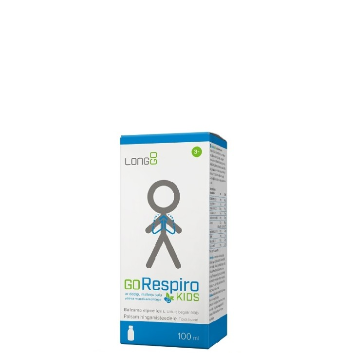 GORESPIRO KIDS 100ML/LONGGO