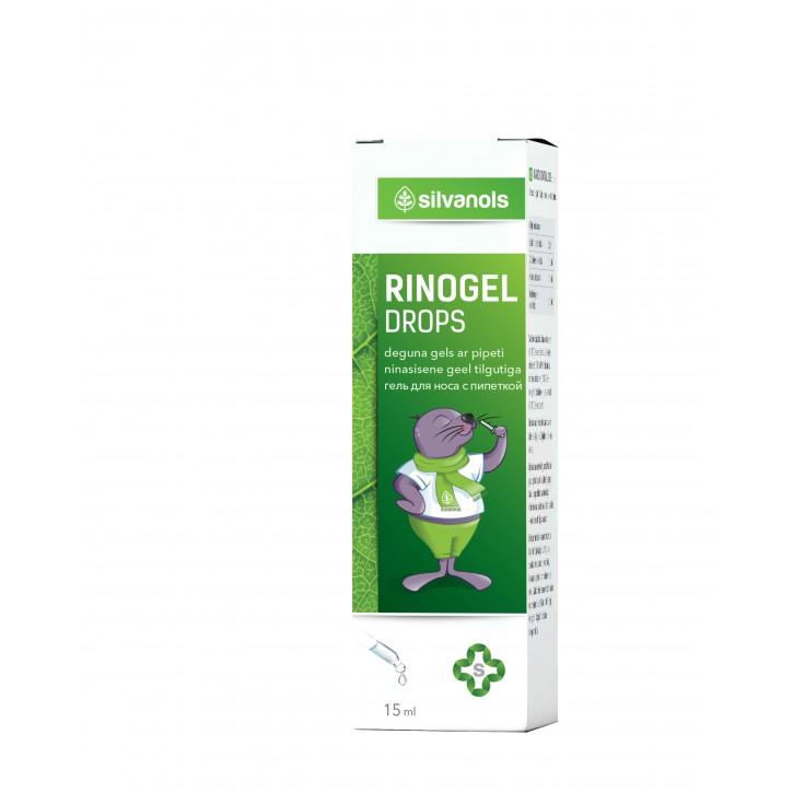 RINOGEL DROPS 15ML / Silvanols