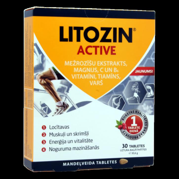 LITOZIN ACTIVE 1020MG N30
