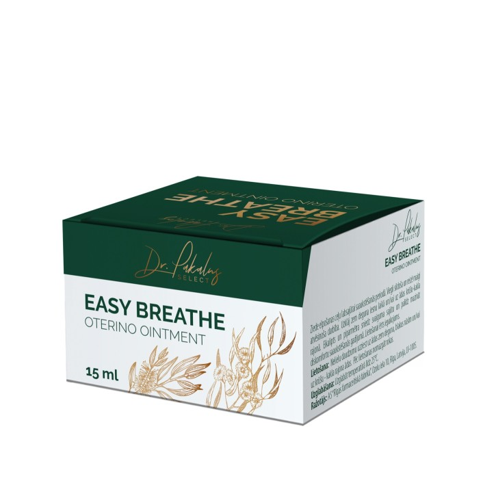 DR. PAKALNS EASY BREATHE OTERINO ZIEDE 15ML