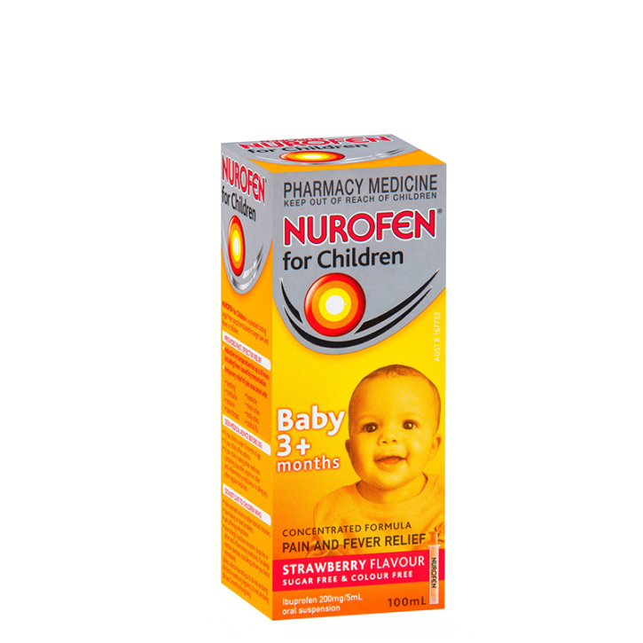 NUROFEN ORANGE 200mg/5ml suspensija 100ml