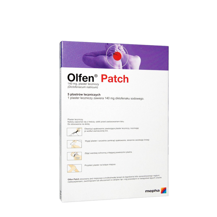 OLFEN PATCH  140mg plāksteris N5