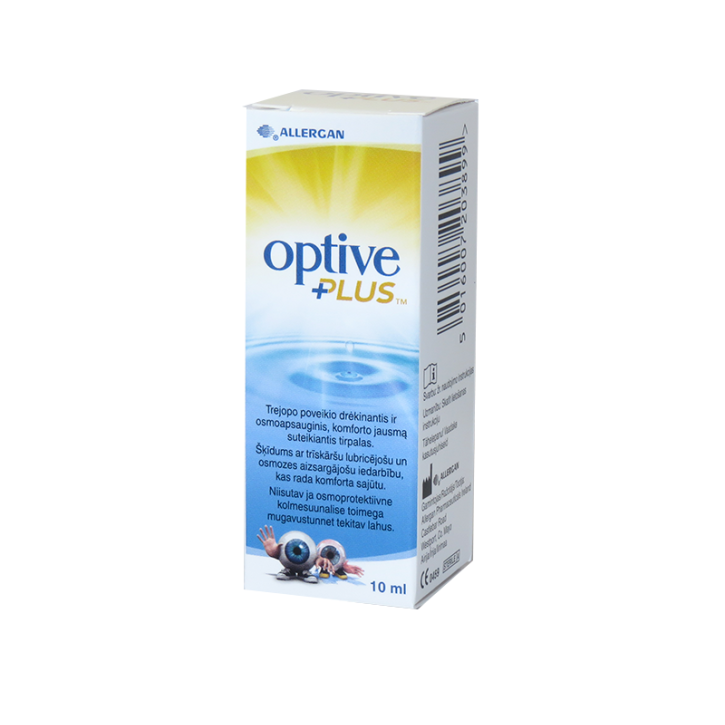 OPTIVE PLUS acu pilieni 10ml