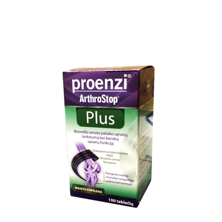 PROENZI ARTHROSTOP PLUS tabletes N100 / WALMARK