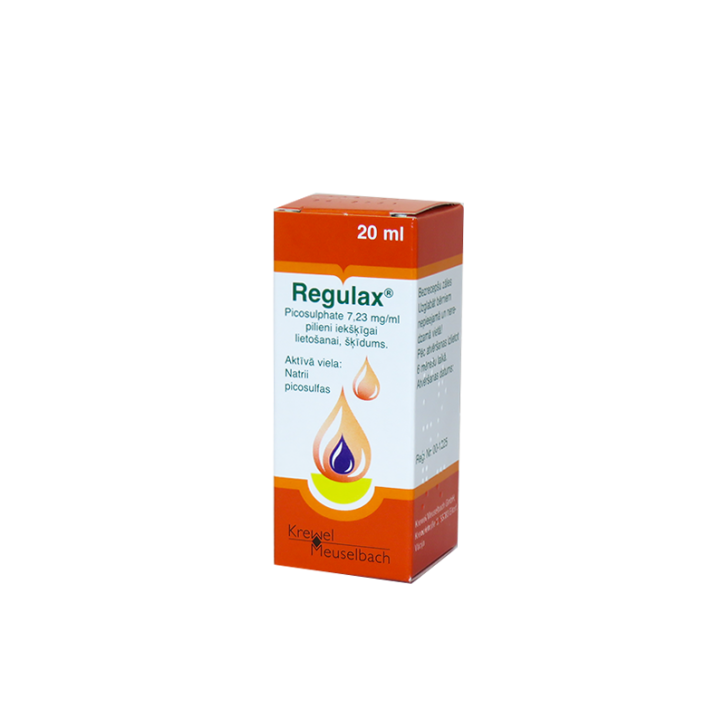 REGULAX pilieni 20ml