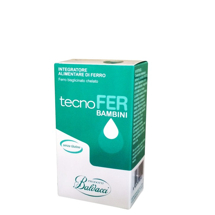 TECNOFER BĒRNIEM pilieni 30ML