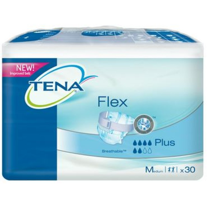 TENA FLEX PLUS MEDIUM N30