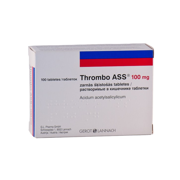THROMBO ASS 100 mg tabletes N100