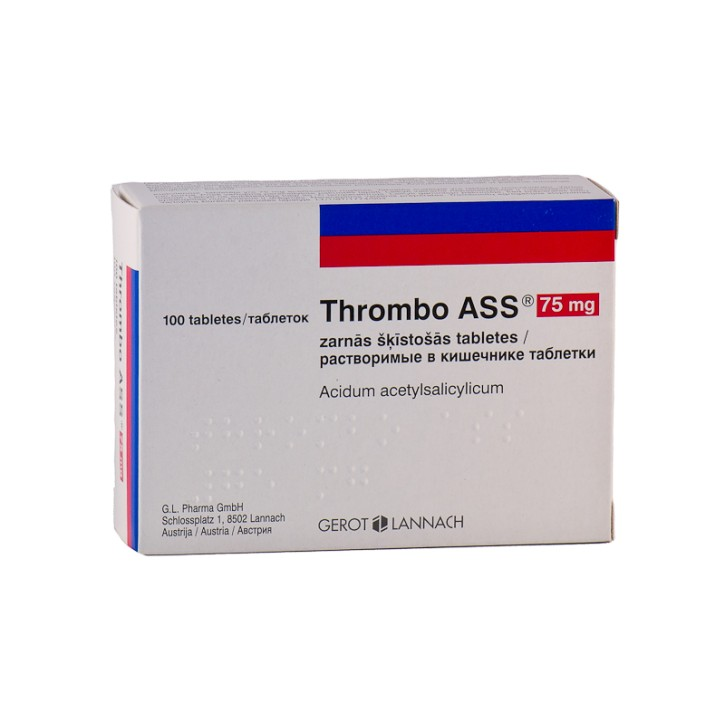 THROMBO ASS 75mg tabletes N100