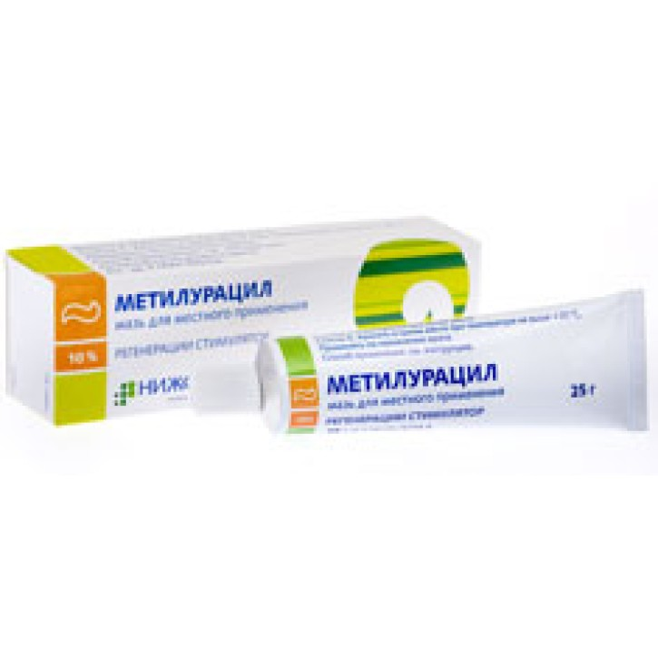 METHYLURACILUM ZIEDE 10% 25G