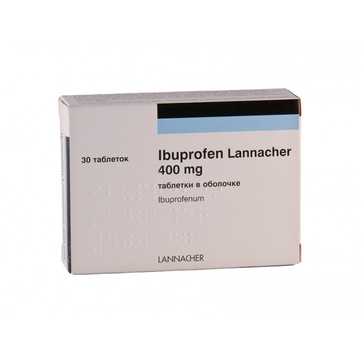 IBUPROFEN 400mg N30/ Lannacher