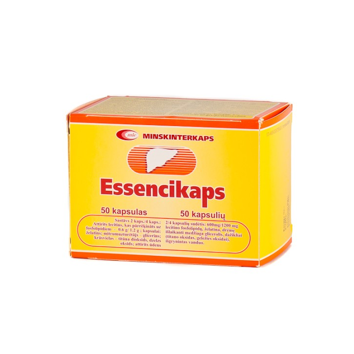 ESSENCIKAPS 300mg kapsulas N50