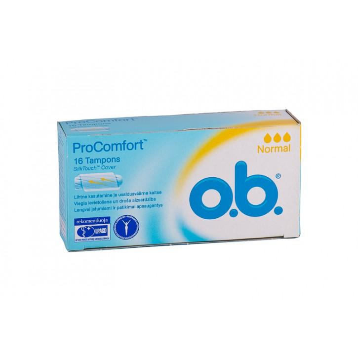 Tamponi O.B. Procomfort normal N16