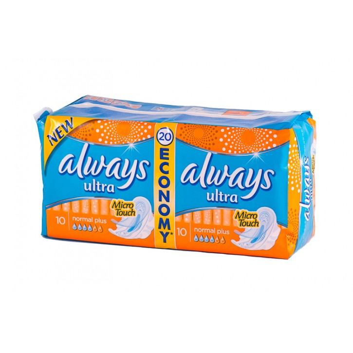ALWAYS DUO ULTRA NORMAL PLUS paketes N20
