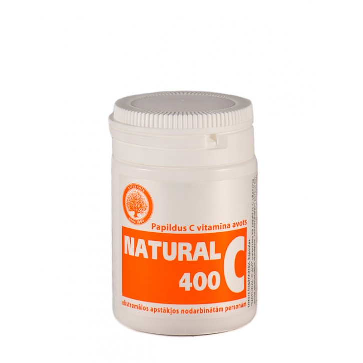 NATURAL C 400mg kapsulas N30/Silvanols